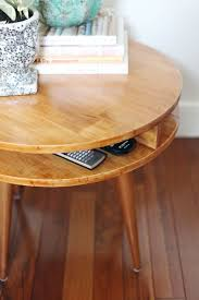 midcentury modern side table diy u2013 a beautiful mess