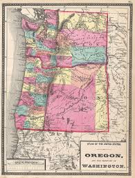 Map Of Central Oregon by List Of Shipwrecks Of Oregon Wikipedia