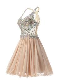 buy stunning v neck knee length champagne homecoming dress with