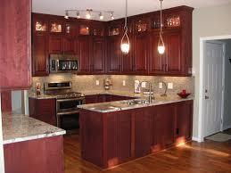 Unfinished Kitchen Cabinet Kitchen Kitchen Pantry Cabinet Cherry Wood Kitchen Cherry