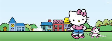 kitty cartoon dog fb cover