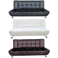 Cheap Leather Sofa Beds Uk by Lpd Furniture Vogue Faux Leather Sofa Bed Available At Leader Stores