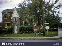 1950 S House by 1950s House In St Lambert Montreal Stock Photo Royalty Free