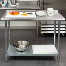 Best  Stainless Steel Work Table Ideas On Pinterest Stainless - Stainless steel kitchen tables