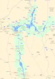 Map Of Arizona And California by Map Of Lake Mead National Recreation Area Arizona Nevada