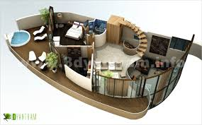 3d home modern floor plan design studio beijing asia