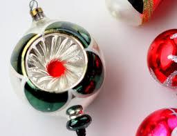 ornaments vintage glass ornaments vintage