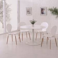 Napoli Dining Table Snowdon Dining Table In White Gloss Top And 4 Napoli White