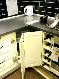 blind corner kitchen cabinet organizers terrific blind corner cabinet organizer medium size of corner