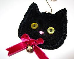 cat ornaments etsy