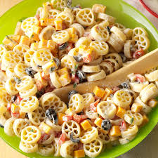 Creamy Pasta Salad Recipes by Wheely Good Pasta Salad Recipe Taste Of Home