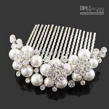 pearl hair comb 2018 pearl hair comb wedding hair jewelry accessories fs 012