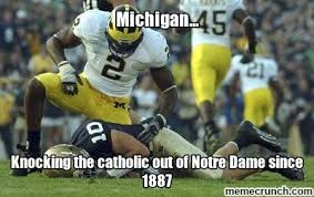 Notre Dame Football Memes - owns notre dame