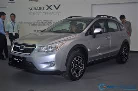 subaru crossover 2012 subaru officially rolls out locally assembled 2012 xv crossover