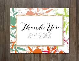 personalized thank you cards captivating personalized custom thank you card design with