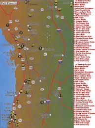 Tavares Florida Map by Bar Guide Biker Online Guide