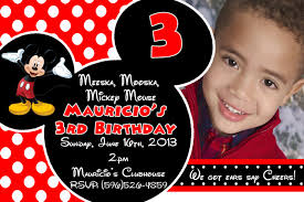 mickey mouse clubhouse 2nd birthday invitations free printable