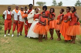 traditional wedding in the on the move sempane lekoane and mpho mollo s