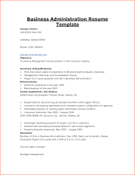 Actuarial Resume Example by 10 Resume For Business Budget Template Letter