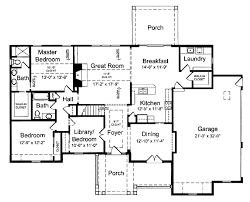 Floor Plans For Bungalow Houses Bungalow Style House Plan 3 Beds 2 00 Baths 1940 Sq Ft Plan 46 420