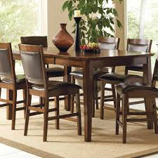 bar height dining room sets 9 piece round dining set round bar table bar height dining table