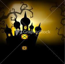 scary halloween photo background scary halloween night background stock image