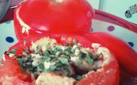 cuisine rapide sans four recette tomates farcies au tofu sans four pas chère et simple