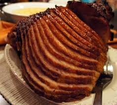 honey glazed spiral ham recipe image