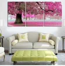 cherry blossom home decor aliexpress com buy 2017 real new paintings home decoration art