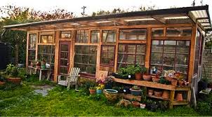 Backyard Greenhouse Ideas Build A Greenhouse From Windows Do It Yourself Ideas