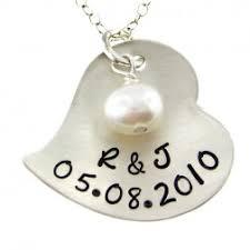 Custom Stamped Jewelry Jc Jewelry Design Bride Wedding Hand Stamped Jewelry Handmade