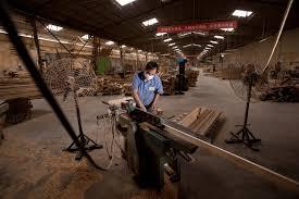 Slow Bake At The Hongyuan Sauna Furniture Factory Industrial - Factory furniture