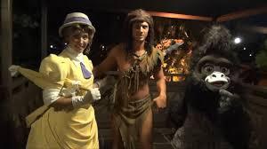 tarzan jane and terk meet and greet at mickey u0027s not so scary