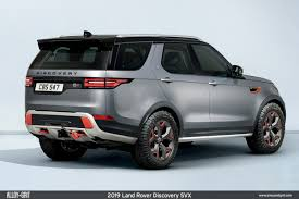 land rover discovery land rover u0027s hand built discovery svx is the most extreme