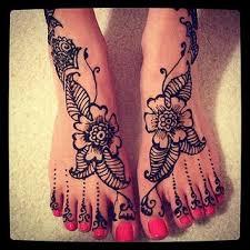 foot tattoos design ideas flowers stars henna tattoo gallery