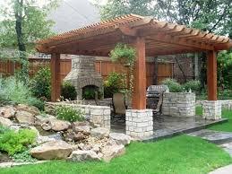 Backyard Patio Images Best 25 Backyard Pergola Ideas On Pinterest Outdoor Pergola