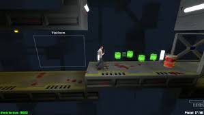 platform game with level editor lockdown protocol is a pay what you want score oriented 2 5d