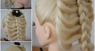 hair plait with chopstick braid hairstylestube com part 6