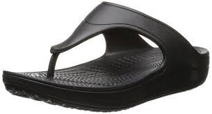 crocs women u0027s wn platform flip flops black various amazon co uk
