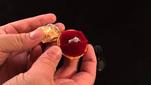 Harry Potter Wedding Rings by Harry Potter Golden Snitch Custom Engagement Ring Box Youtube