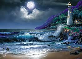 Lighthouse Cove Wall Mural Decor Place Wall Murals Lighthouse Identification Download 1280x923 Man Made Lighthouse
