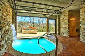 gatlinburg cabins with indoor pools for rent elk springs resort urban cowboy