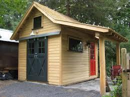 A Portfolio Of Shed Designs Fine Gardening - Backyard sheds designs