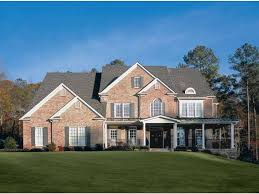 brick house plans with photos brick two story house plans home deco plans