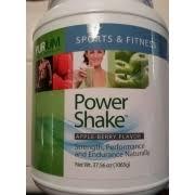 purium power shake purium sports fitness power shake apple berry flavor calories