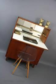 Retro Modern Desk Mid Century Modern Desk Cabinet Vintage Retro Sideboard Teak