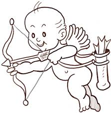 how to draw cupid with a bow and arrows how to draw step by step