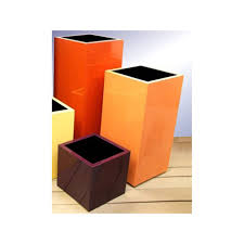 Square Plastic Planters by Tall Square Planters Any Colour Any Size Online From Potstore Co