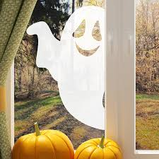 halloween decorations ghost halloween ghost window sticker by nutmeg notonthehighstreet com