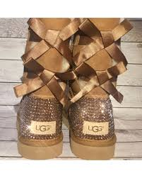 ugg boots here s a great deal on bling uggs bling bailey bow uggs custom ugg